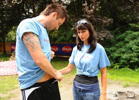 Gondíkové Petr Vágner ukazoval zřejmě nové tetování.