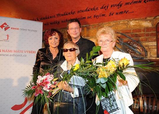 Kmotři kalendářů (zleva) Petra Janů, Eva Gérová a Jitka Dušková-Viktorýnová.