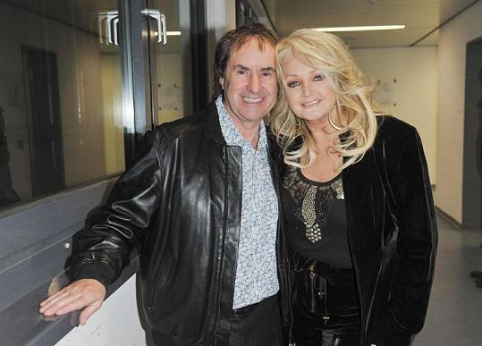 Bonnie Tyler a Chris na folkovém festivalu v Německu.