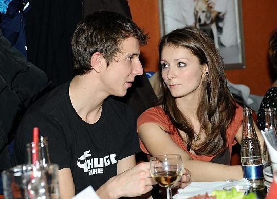 Jakub Štáfek se pochlubil krásnou přítelkyní.