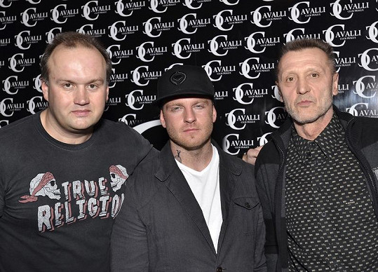 Marek Vít, Eddie Stoilow a fotbalový internacionál Jan Berger.