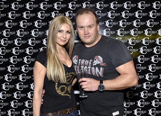 Marek Vít s přítelkyní Katkou.