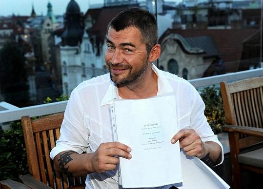 Bořek Slezáček dostal hlavní roli ve filmu.