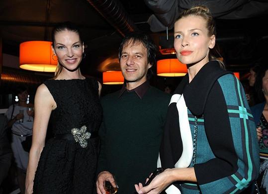 Peštová s Haberou s Pavlínou Němcovou.