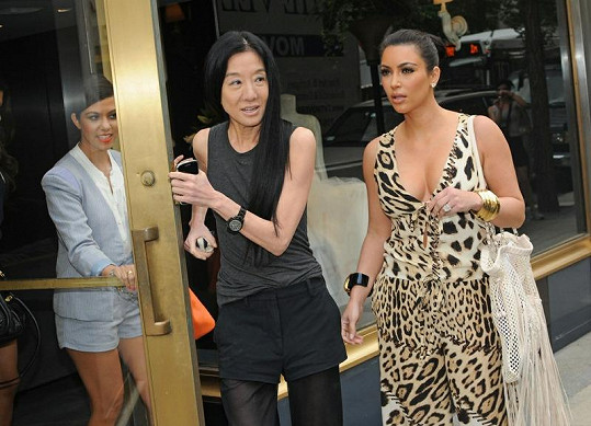 Vera Wang s Kim Kardashian.