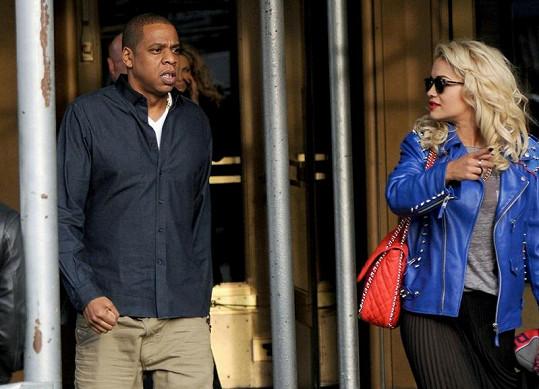 Rita a Jay-Z.