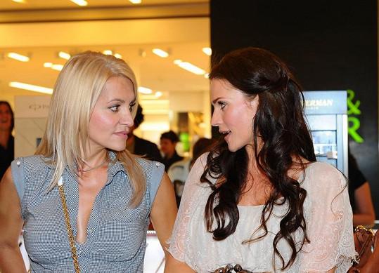 Andrea Verešová a Dara Rolins.