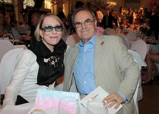 Inna Čurikovová s manželem režisérem Glebem Panfilovem.