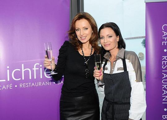 Gábina Partyšová a Kateřina Brožová.
