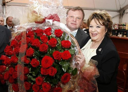 Jiřina Bohdalová oslavila narozeniny ve velkém stylu