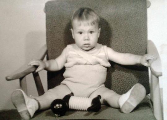 Bohuš Matuš na fotce z dětství.