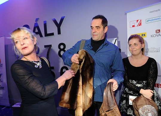 Miroslav Etzler a Vilma Cibulková patří k našim největším hereckým hvězdám.