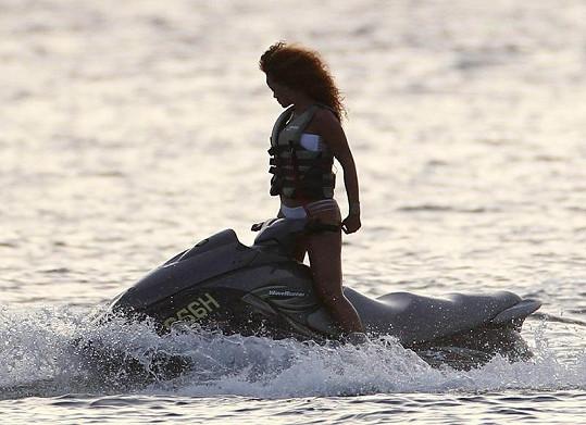 Rihanna na Barbadosu.
