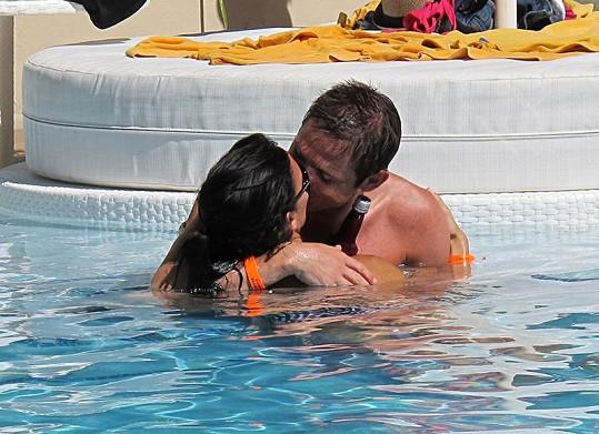 Frank Lampard a Christine Bleakley planou vášní.