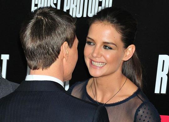 Katie a Tom mají šťastné manželství.