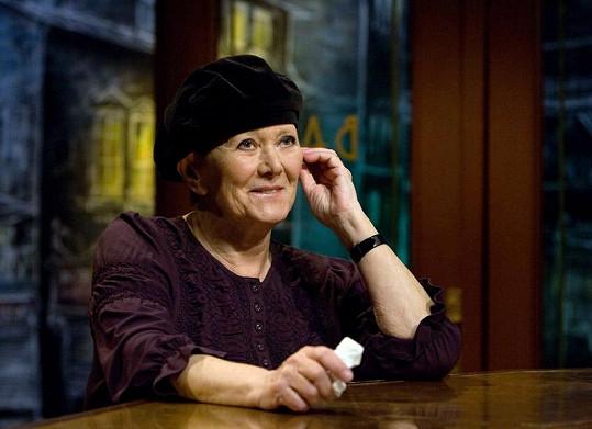 Zdena Hadrbolcová je i přes pokročilý věk velmi vitální.