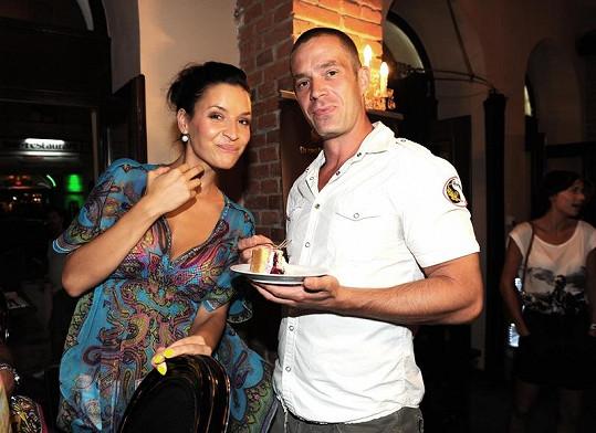Nikola s manželem Petrem Zvěřinou