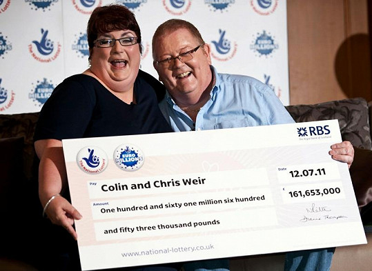 Chris a Colin Weirovi jsou radostí bez sebe.