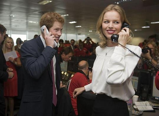 Prince Harry a Eva Herzigová by se mohli živit jako obchodníci na burze.