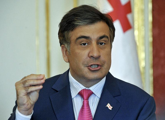 Skutečný Michail Saakašvili.