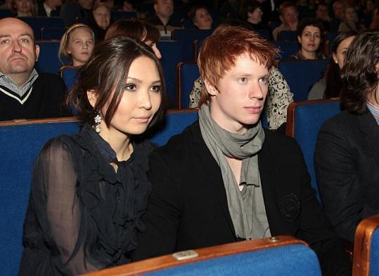 Nikita Presňakov se svou krásnou přítelkyní Aidou