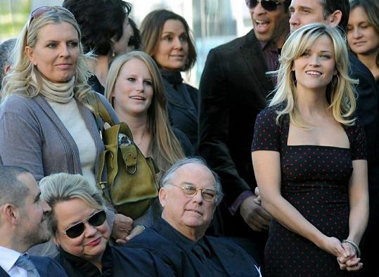 Reese Witherspoon se svými rodiči.