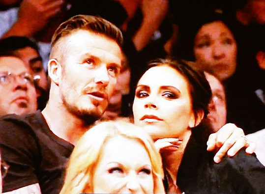 Victoria a David Beckhamovi.
