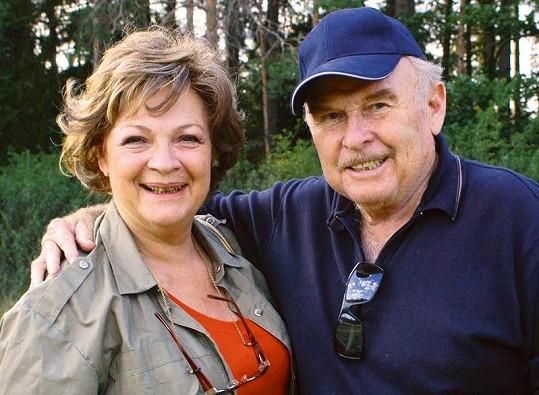 Jana Hlaváčová a Luděk Munzar jsou spolu již bezmála čtyřicet let.