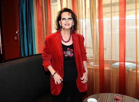 Claudia Cardinale oslaví brzy 73. narozeniny.