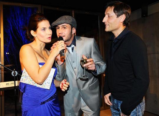 Eva Decastelo, Sámer Issa a jeho producent Yuri Nikitin.