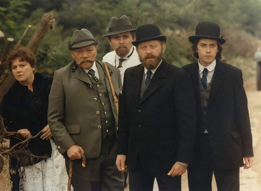 Herci z filmu Rozpuštěný a vypuštěný (1984). Brodský první zprava.