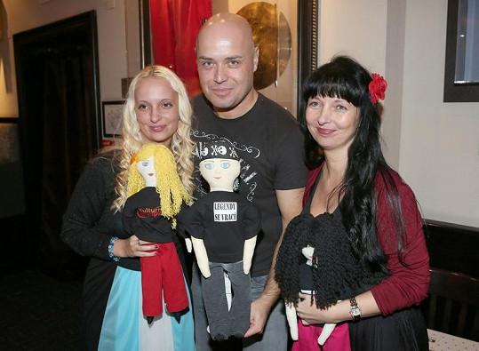 Petr Šiška a jeho tým podporují charitativní projekt.