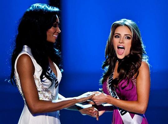 Olivia byla z titulu velmi překvapená.