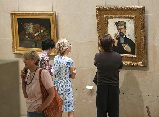 Meg Ryan a John Mellancamp si prohlédli díla impresionistů v Musée d'Orsay.