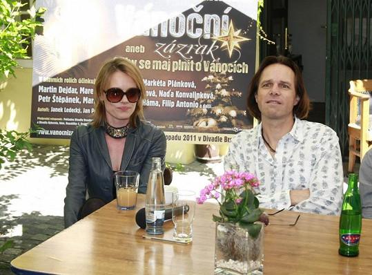 Linda Rybová a Janek Ledecký.