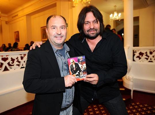 Michal David s Jiřím Pomejem.