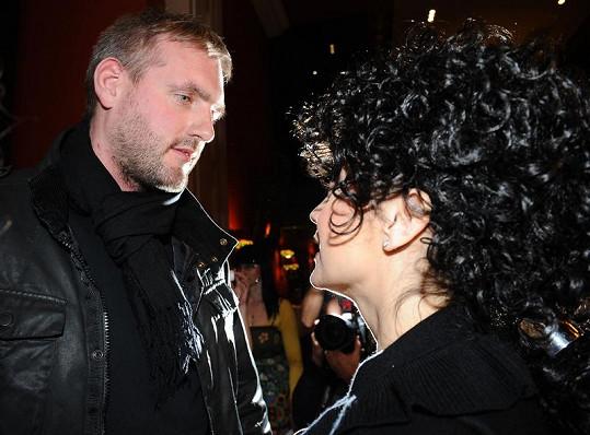 Lucie Bílá a Petr Makovička, který si ji zatím nevzal.