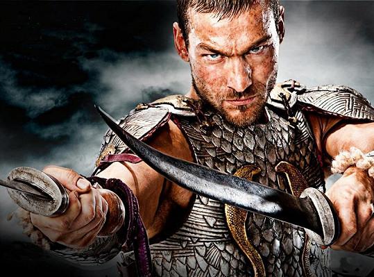 Whitfield jako Spartacus.