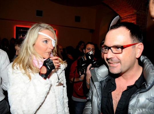 Michal Červín s Loretou.