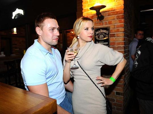 Kateřina Kristelová s manžele Martinem Tůmou.
