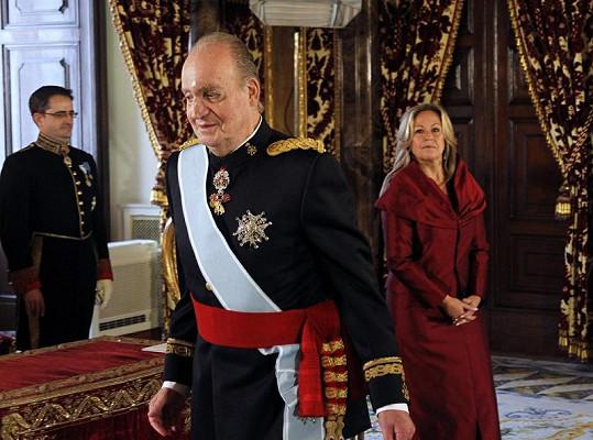 Juan Carlos dokonce ten samý den přivítal ve své královské rezidenci několik velvyslanců.