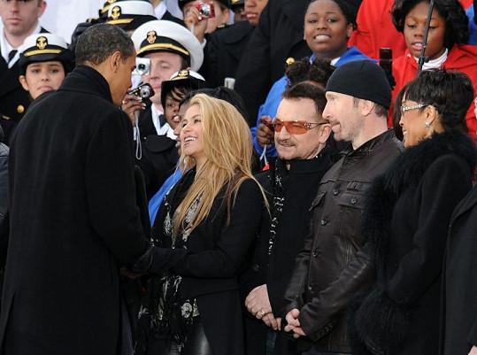 Shakira se s Barackem Obamou setkala už po jeho zvolení v roce 2009.