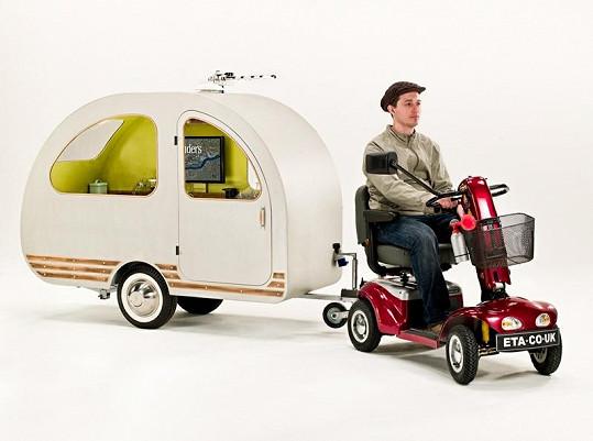 Nejmenší karavan na světě.