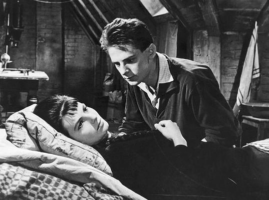 S Danou Černou ve filmu Romeo, Julie a tma (1959)