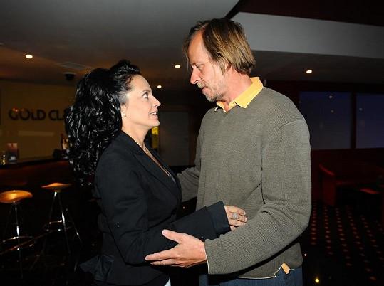 Lucie Bílá na natáčení s Karlem Rodenem ráda vzpomíná.