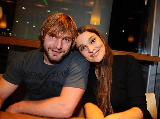 Mahulena Bočanová s bývalým přítelem Jiřím Herdou