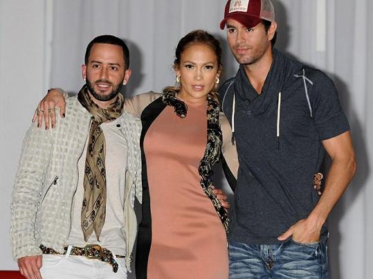 Jennifer Lopez a Enrique Iglesias (vpravo) plánují velké letní turné.