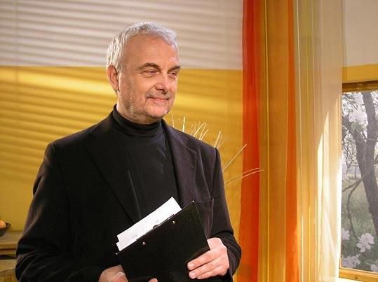 Vladimír Čech ještě v době, kdy natáčel Barvy života.