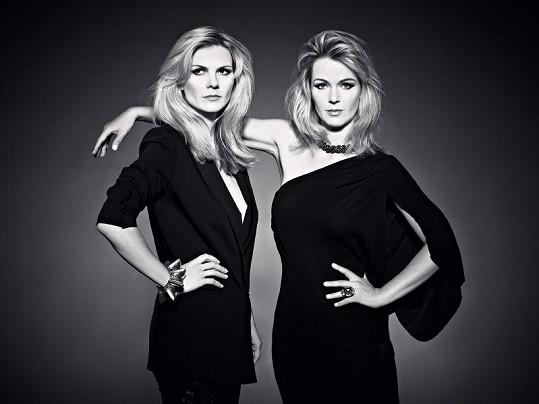 Eva Slaná a Lucie Klasek jsou nejen sexy, ale i talentované.
