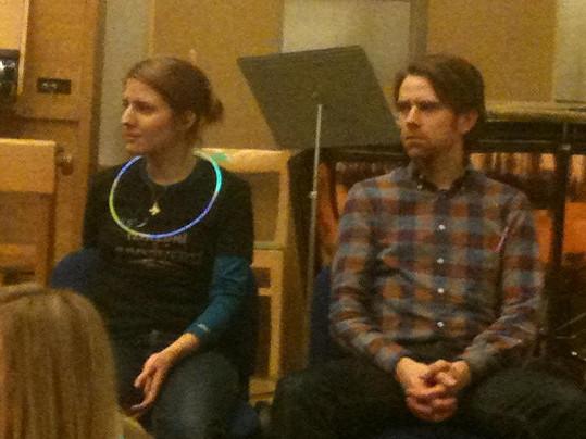 Irglová a Iseler na tiskové konferenci k filmu Poslední z Aporveru.